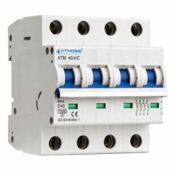 Interruptor Magnetotérmico 4 Polos Curva D