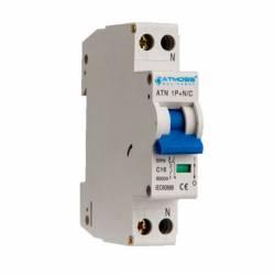 Interruptor Magnetotérmico DPN 1 Polo + N Curva C