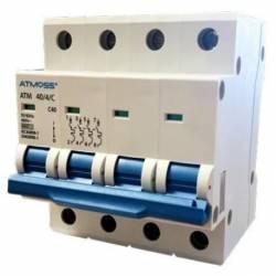 Magnetotérmico 4P 10A 6KA Curva C