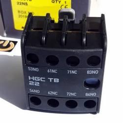Contacto Auxiliar Frontal  2NO+2NC